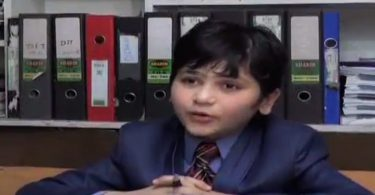 10 Year old professor - Sabauan