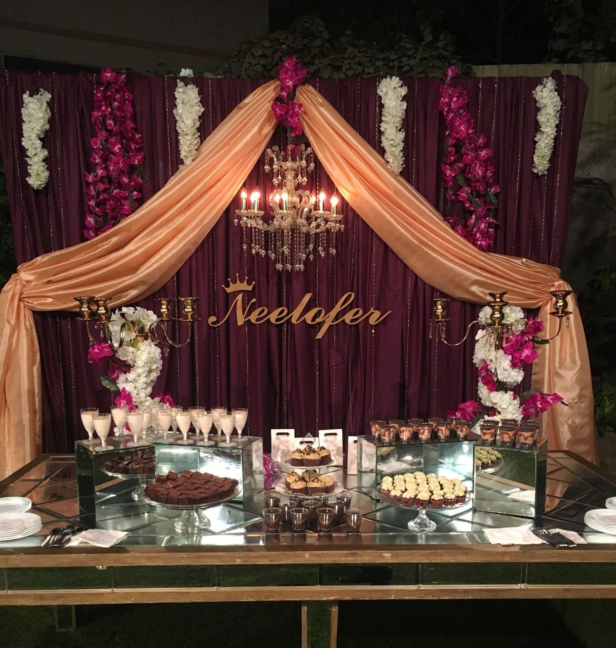 Dessert Table and decor 1