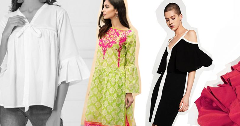 10 Ruffle sleeves to flaunt this summer