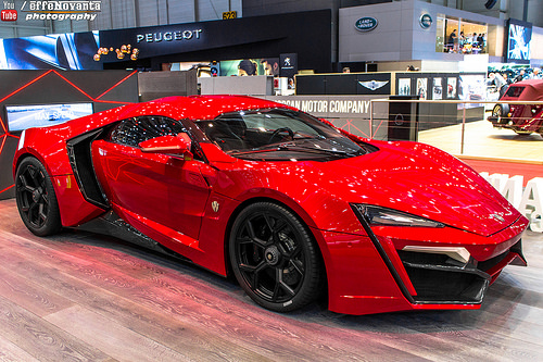 Lykan Hypersport The Fast and The Furious facts