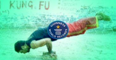 Most Thumb Push-ups in a minute guinness world record 2