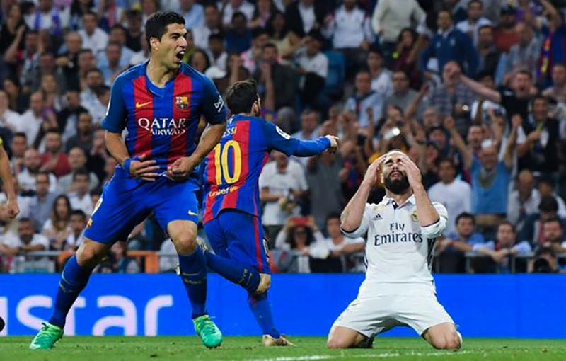 Real-Madrid vs Barcelona - La-Liga