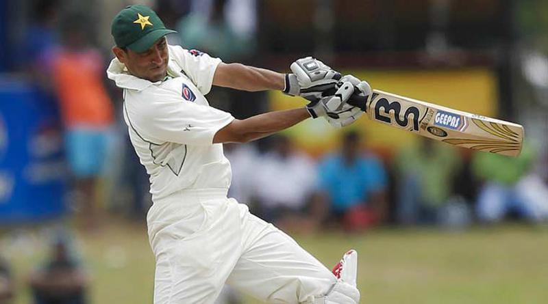 Younis Khan batting