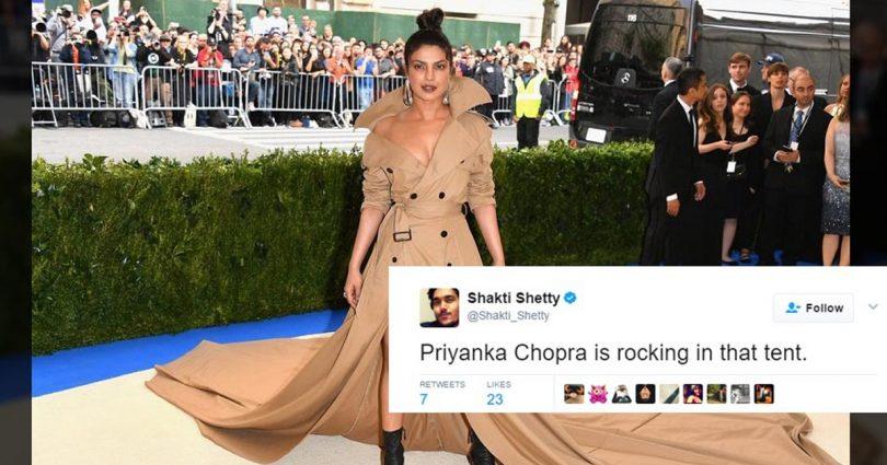 People trolled Priyanka Chopra on her met gala dress