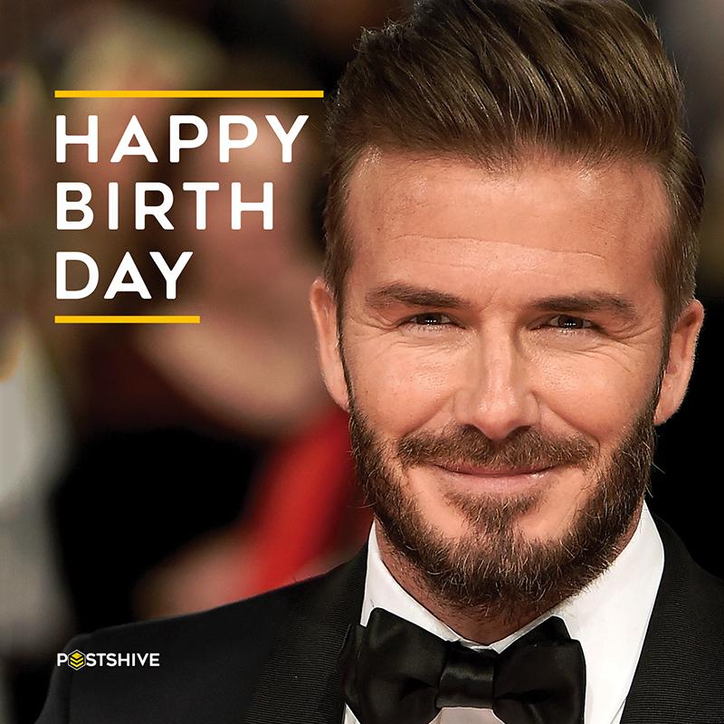 Happy Birthday - David Beckham