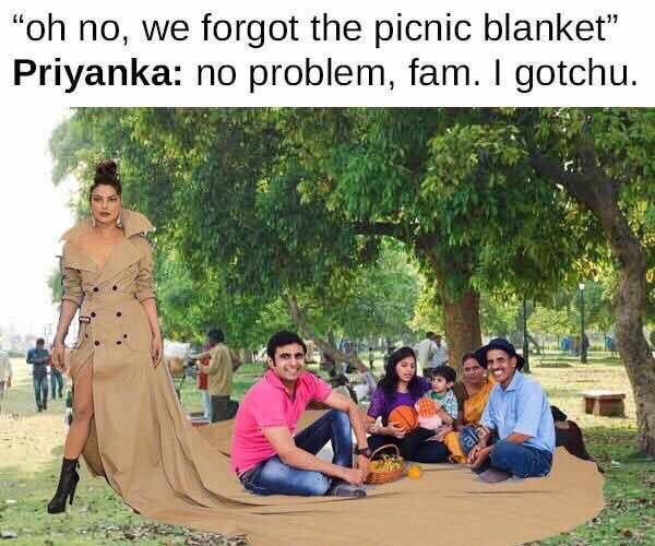 Priyanka Chopra met gala dress meme 1