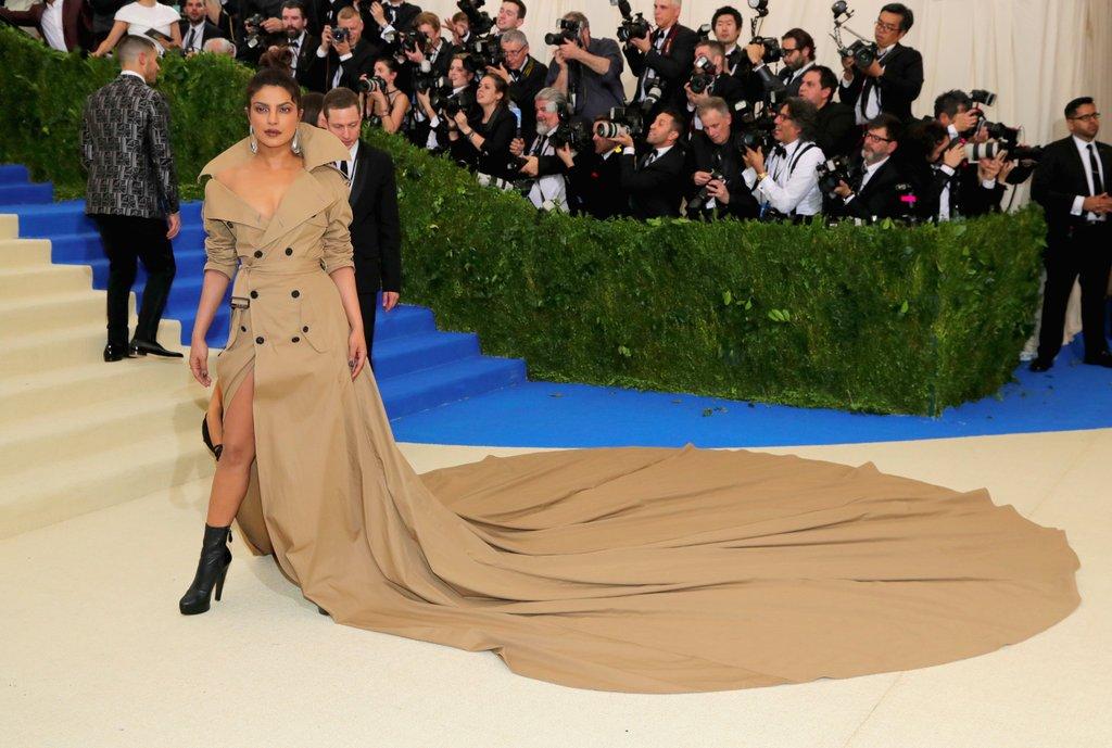 Priyanka Chopra met gala dress