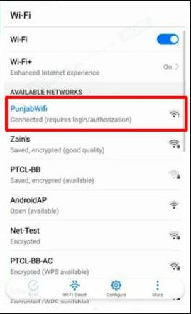You need to install this application to use free public WI-FI