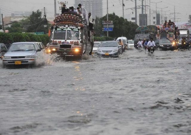 Rain-Karachi