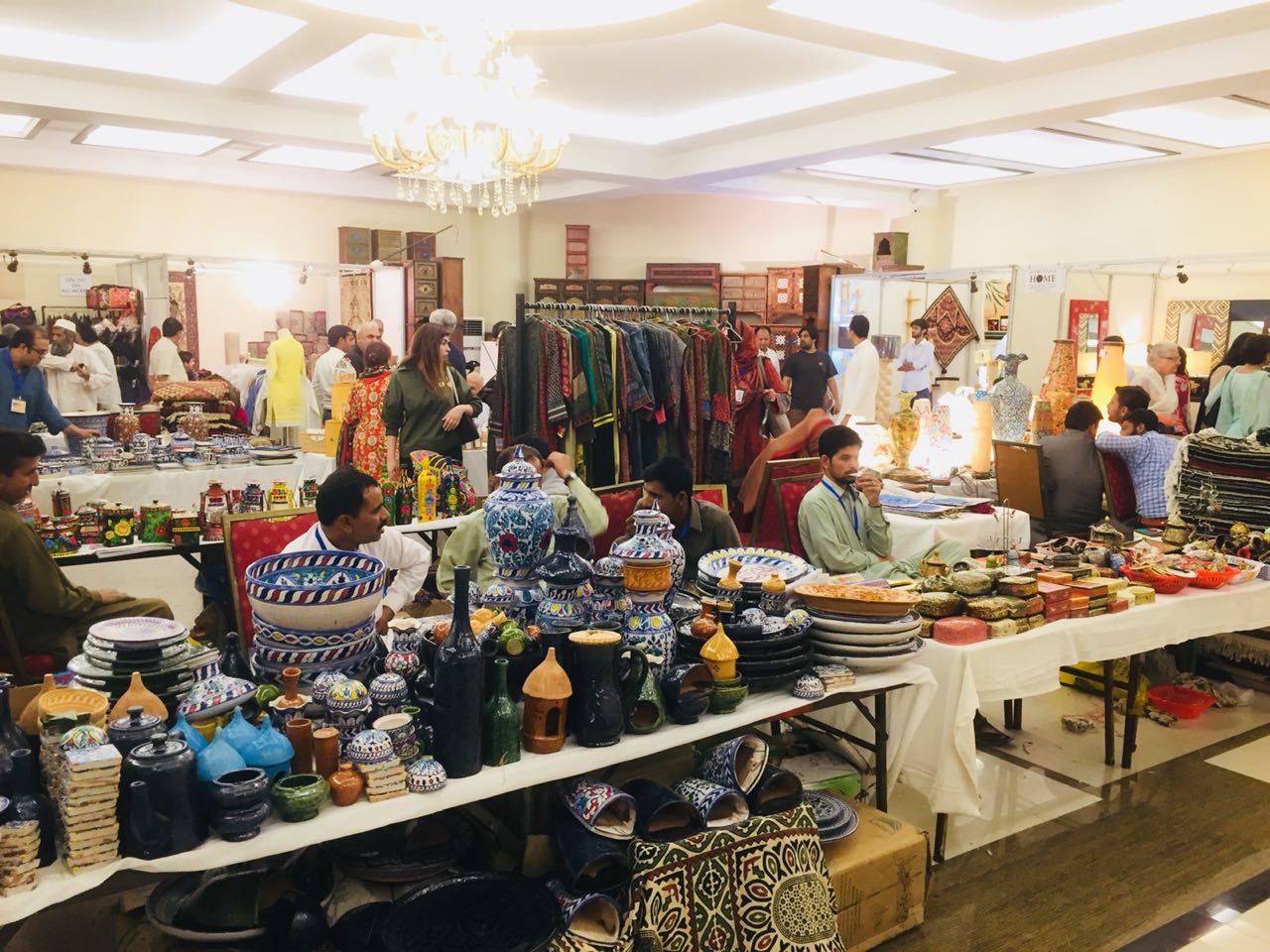Daachi Arts and Crafts Exhibition in Lahore