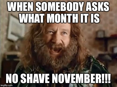When somebody asks what month it is