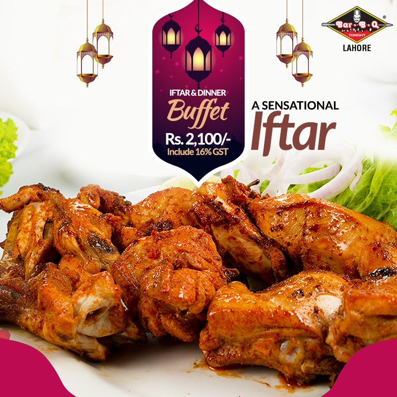 Bar.B.Q Tonight Lahore Ramadan deals