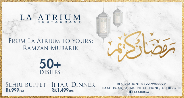 La Atrium ramadan deals
