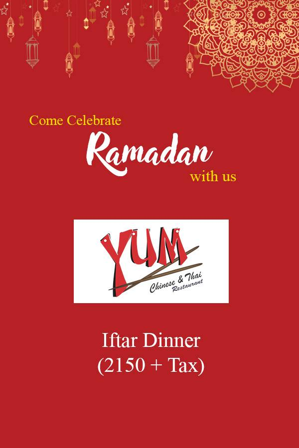 Yum Chinese & Thai Ramadan deals