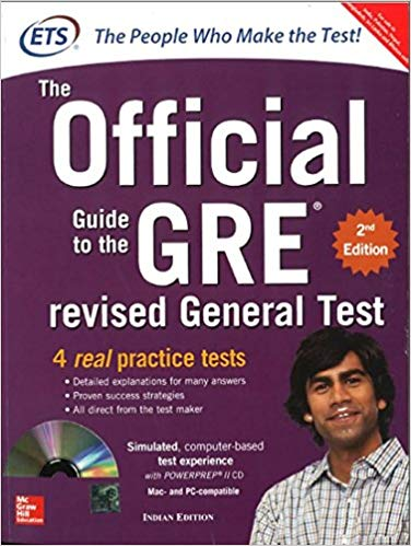 official gre test prep book